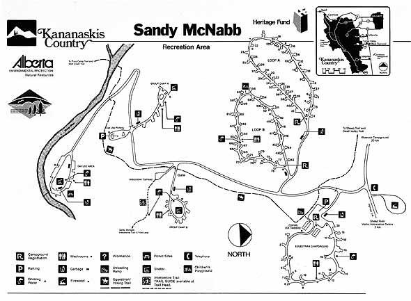 Kananaskis Country S Sheep River Valley Camping Information